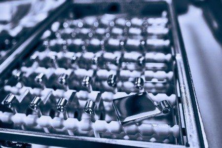 Metall polieren für die Industrie
